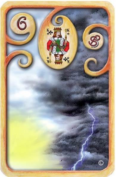 Baralho-Cigano-Carta-6-As-Nuvens