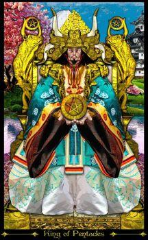 Resultado de imagem para tarot illuminati rei ouros